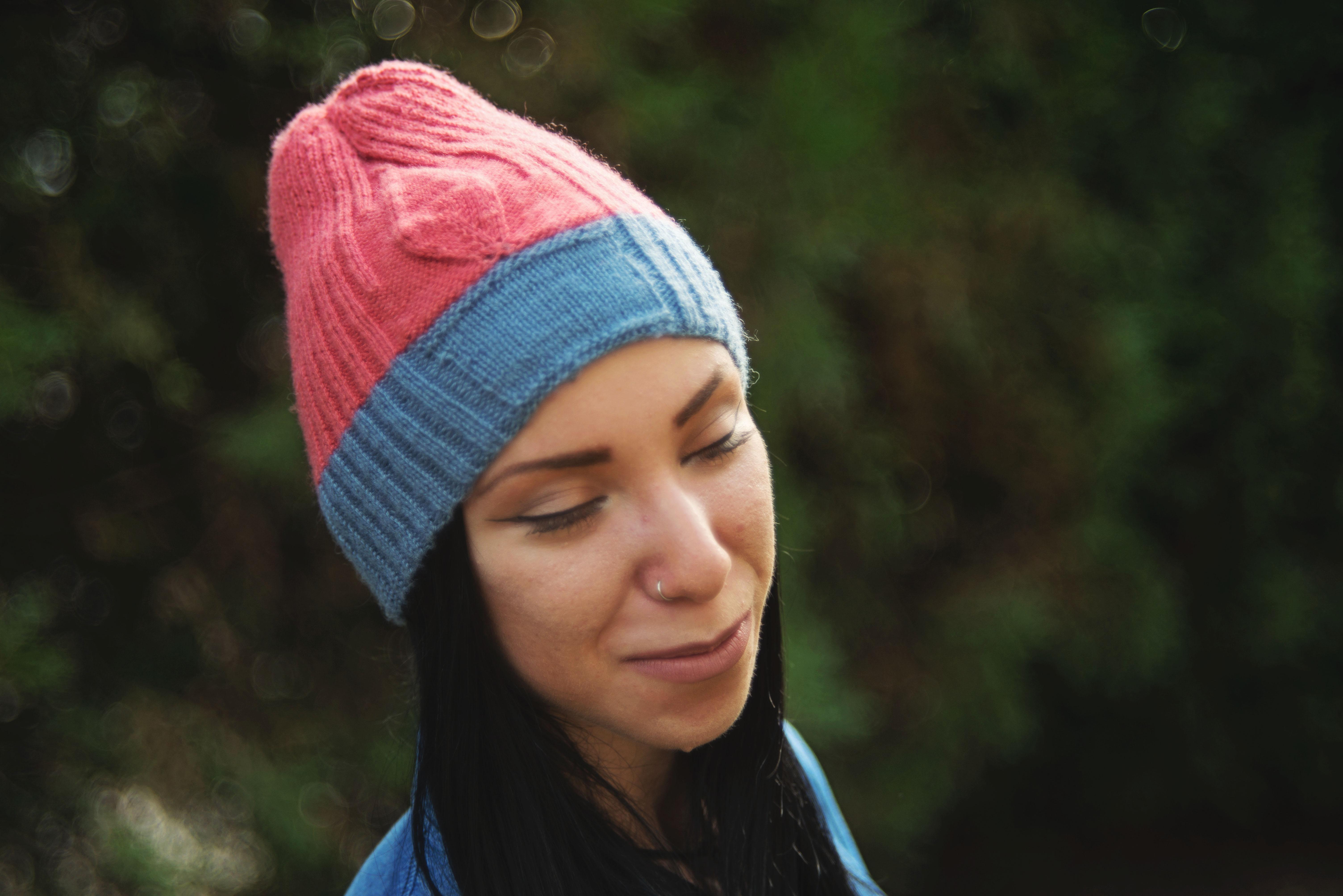 Leaf hat by knittingIlove (Barbara Nalewko)