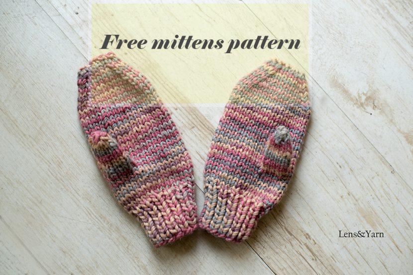 free pattern mittens