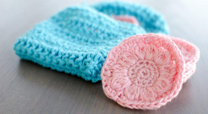 Flower Face Scrubbies Free Crochet Pattern