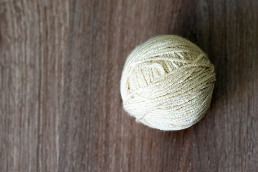 baby yarn beige