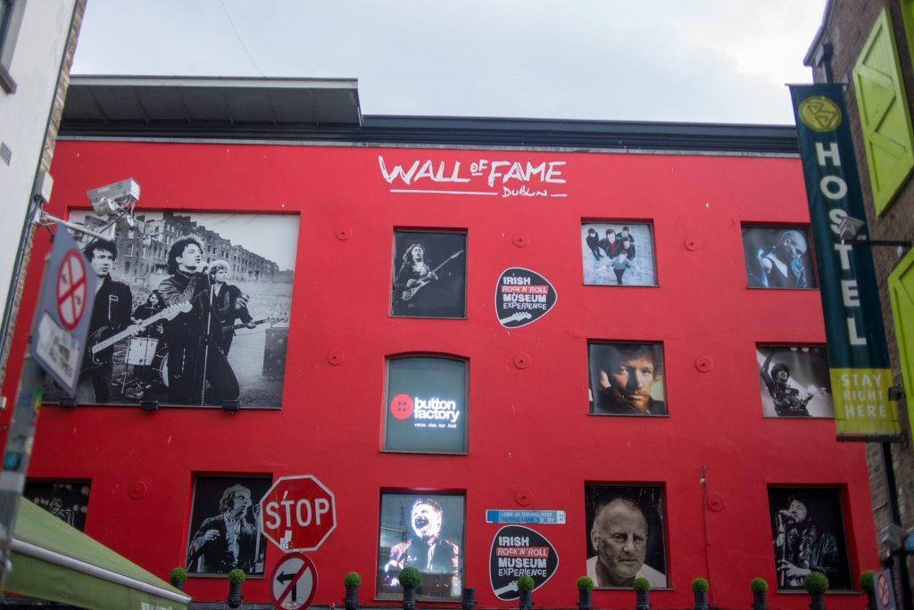 Wall of Fame Dublin