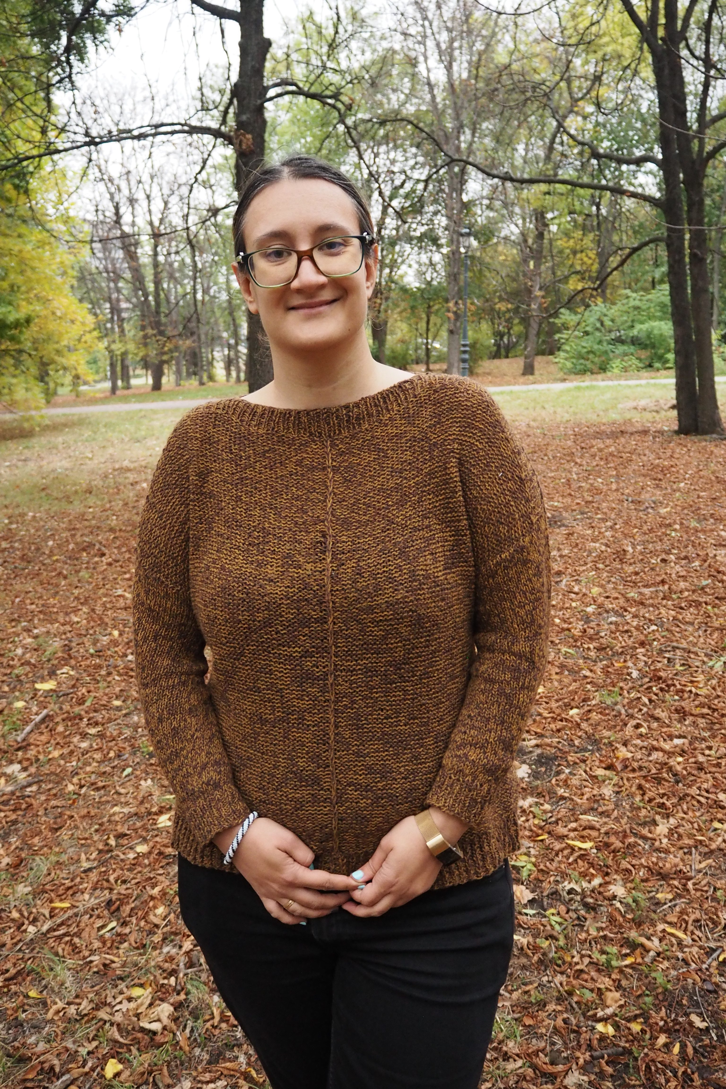 The Weekender by Andrea Mowry – Finished object