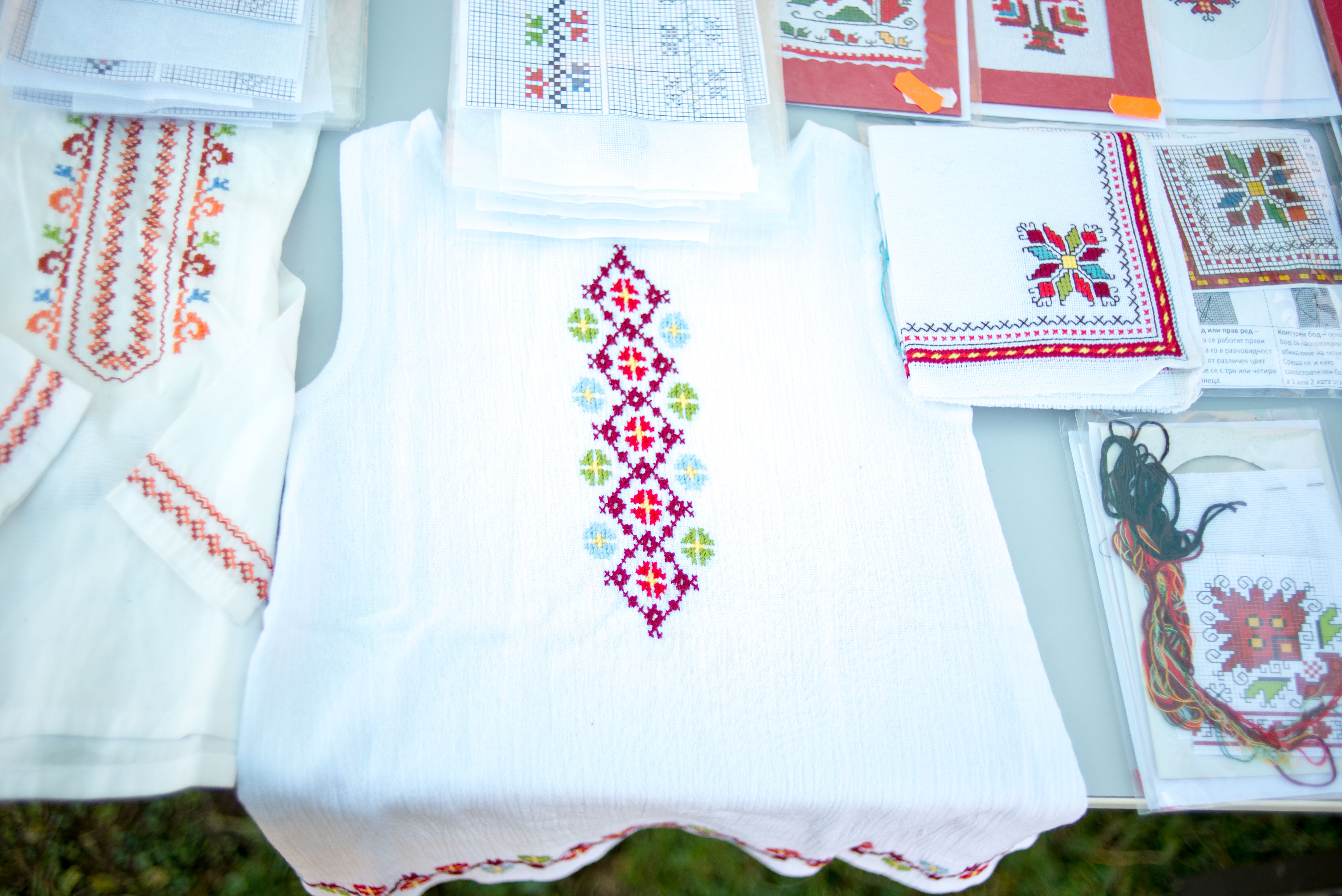 Traditional crafts fest in Koprivshtitsa, Bulgaria