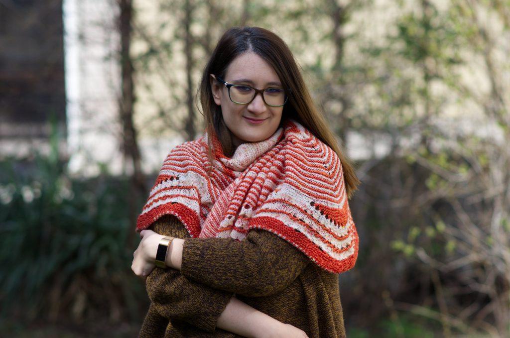 Starflake shawl