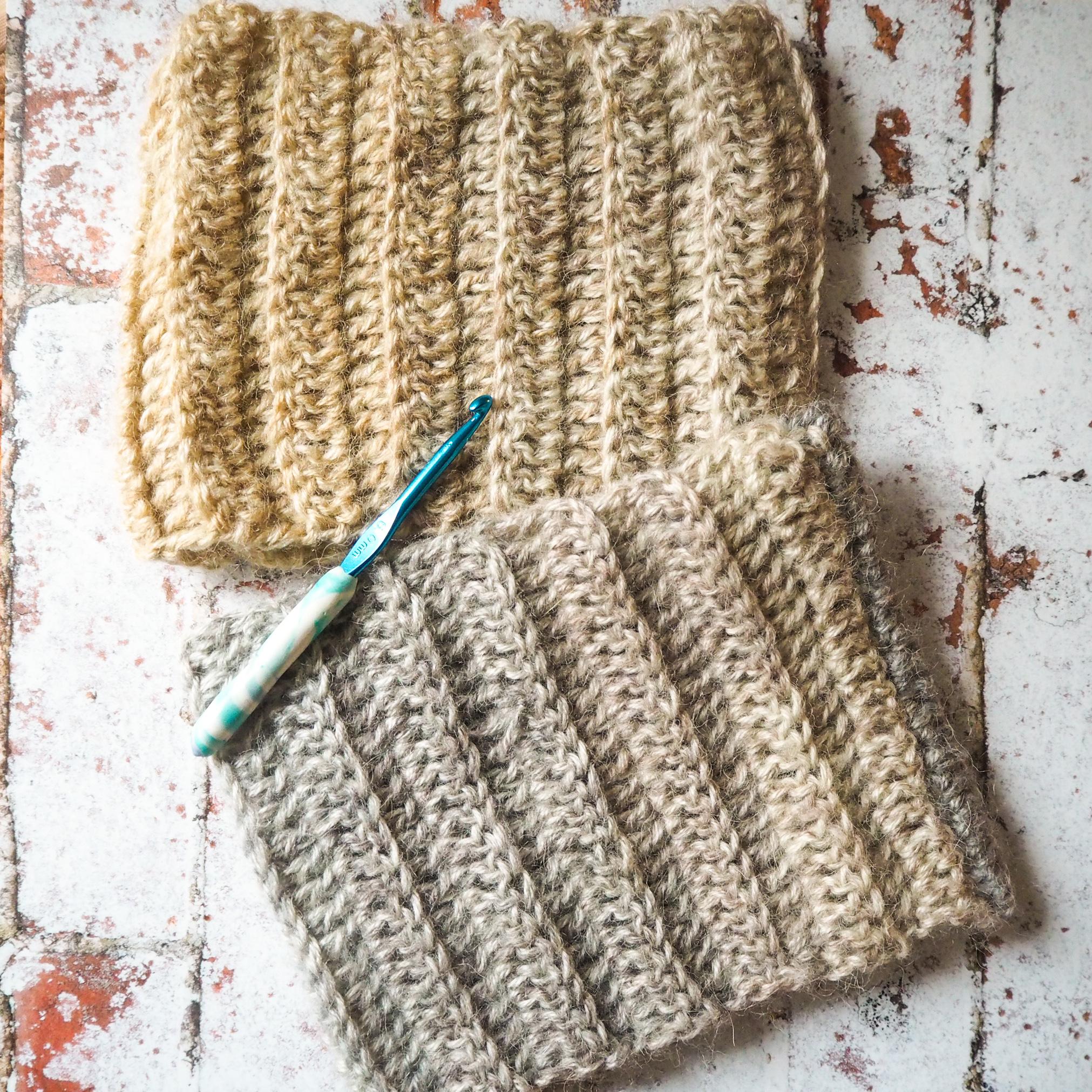 Marbled Crochet Cowl – Free Crochet Pattern
