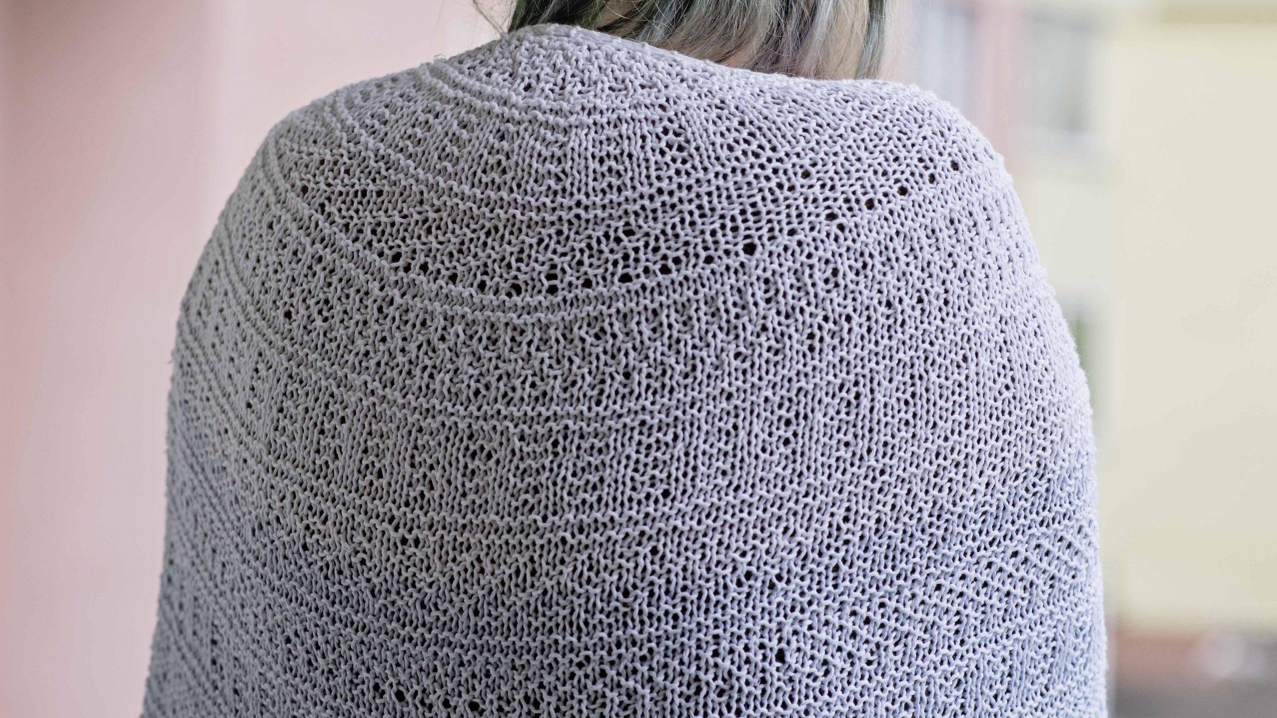 Finished object: Dustland shawl – Stephen West