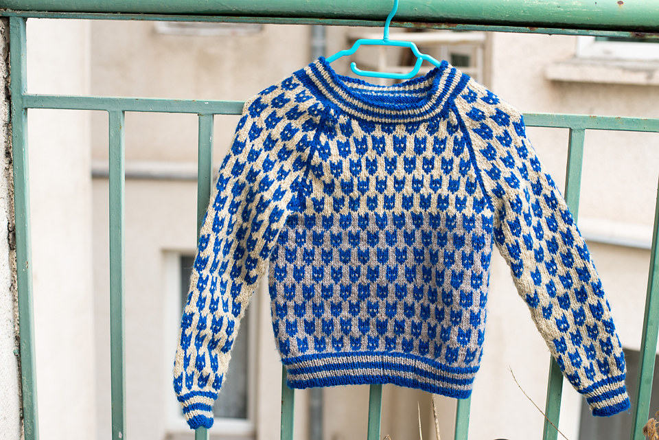 What I learned from knitting my first sweater…
