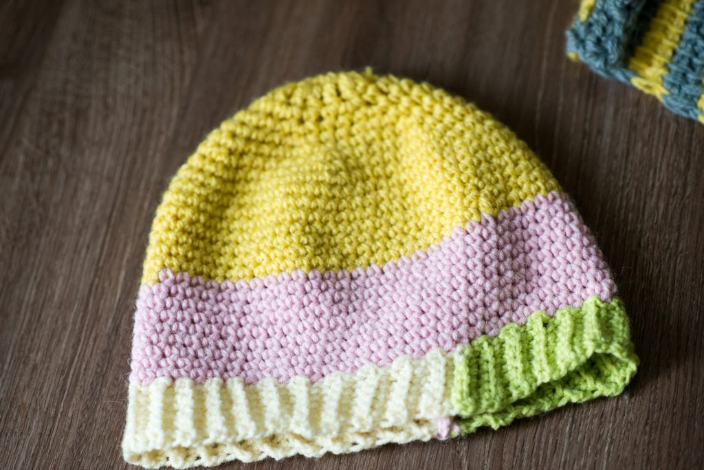 Charity Crochet part 1 – Hat and scarf