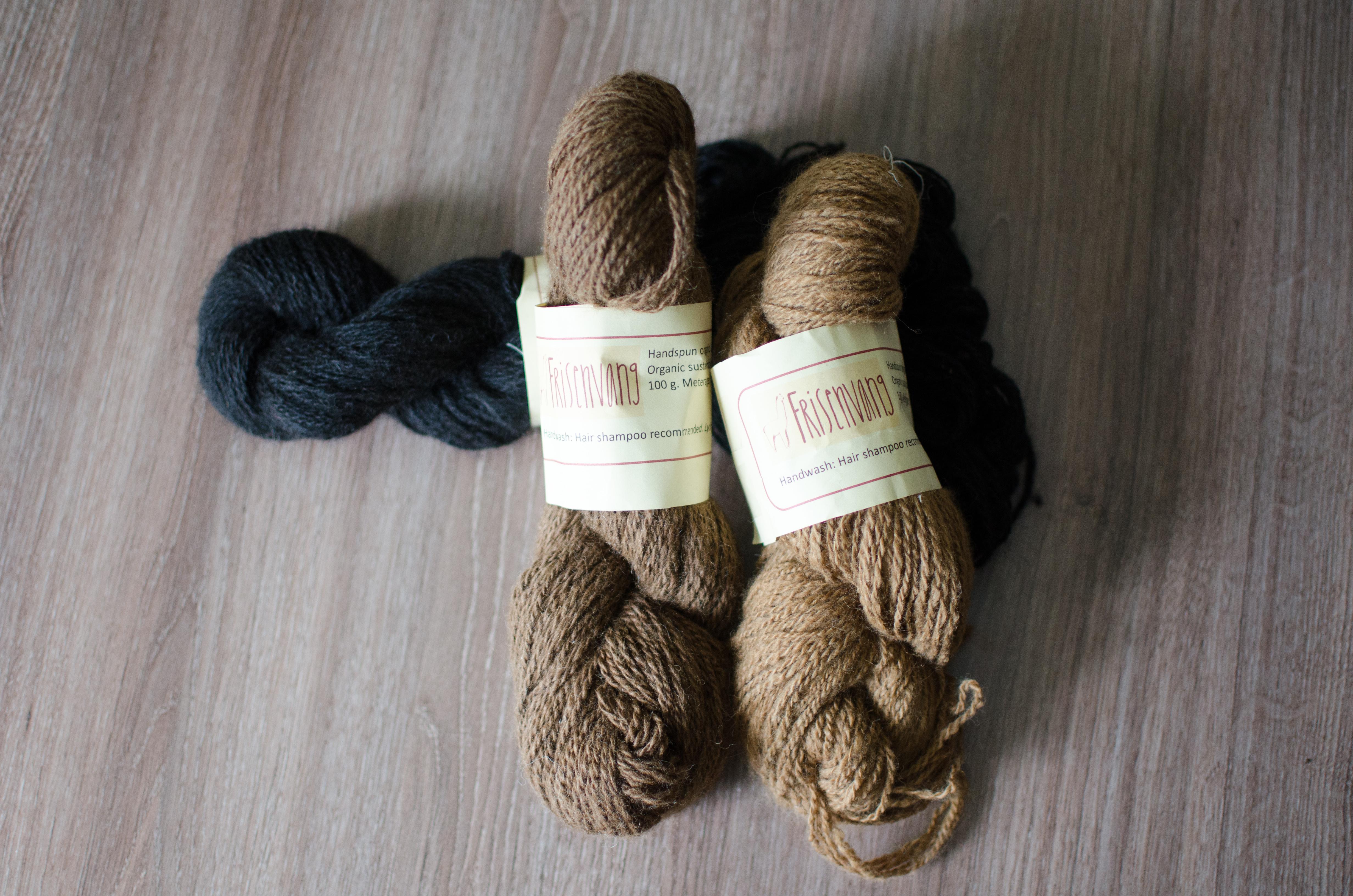 Yarn haul: Frisenvang alpaca yarn & Performance Sock Prime yarn