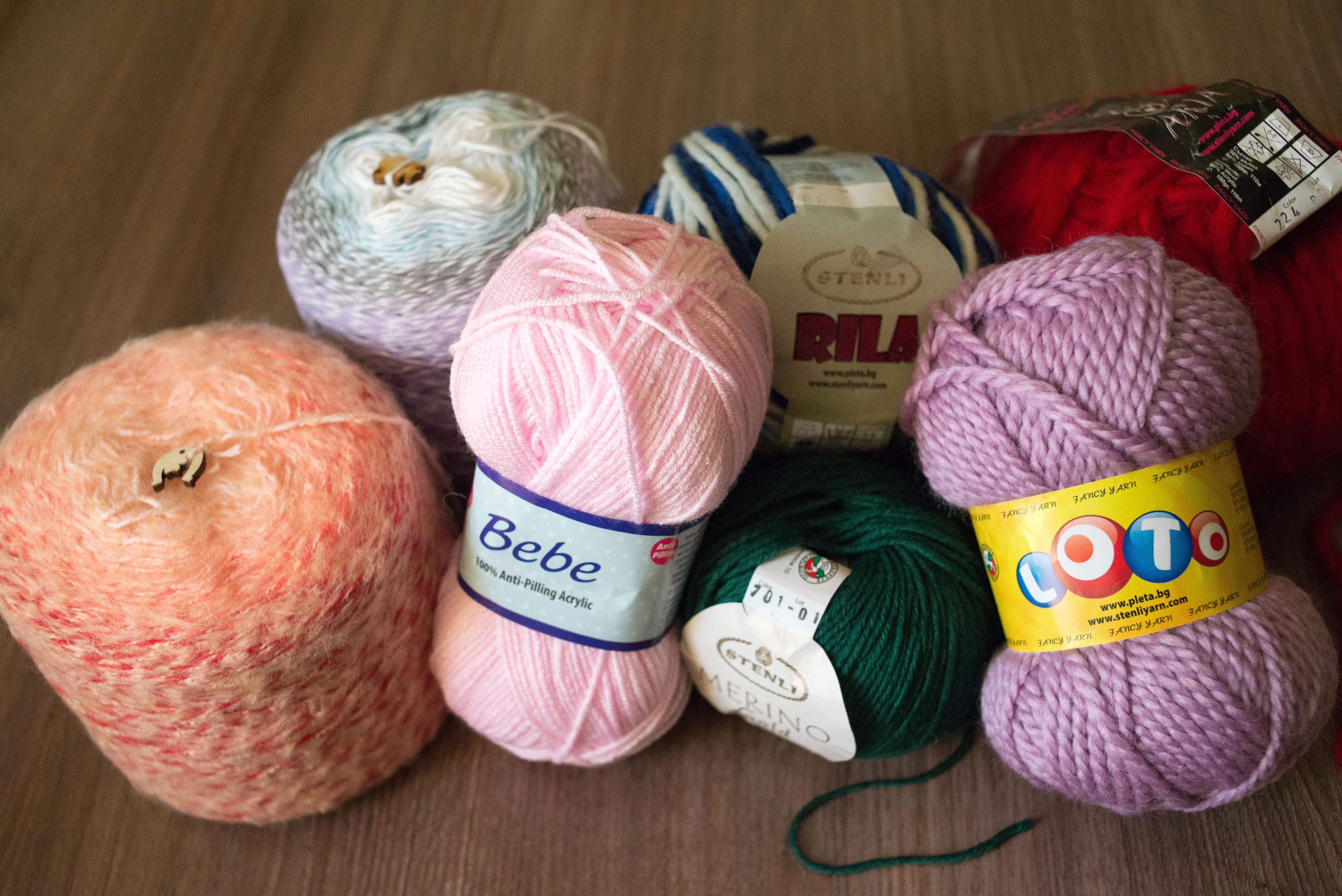 Some new yarn from Stenli