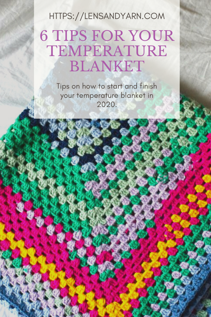6 tips on how to start (and finish) a temperature blanket