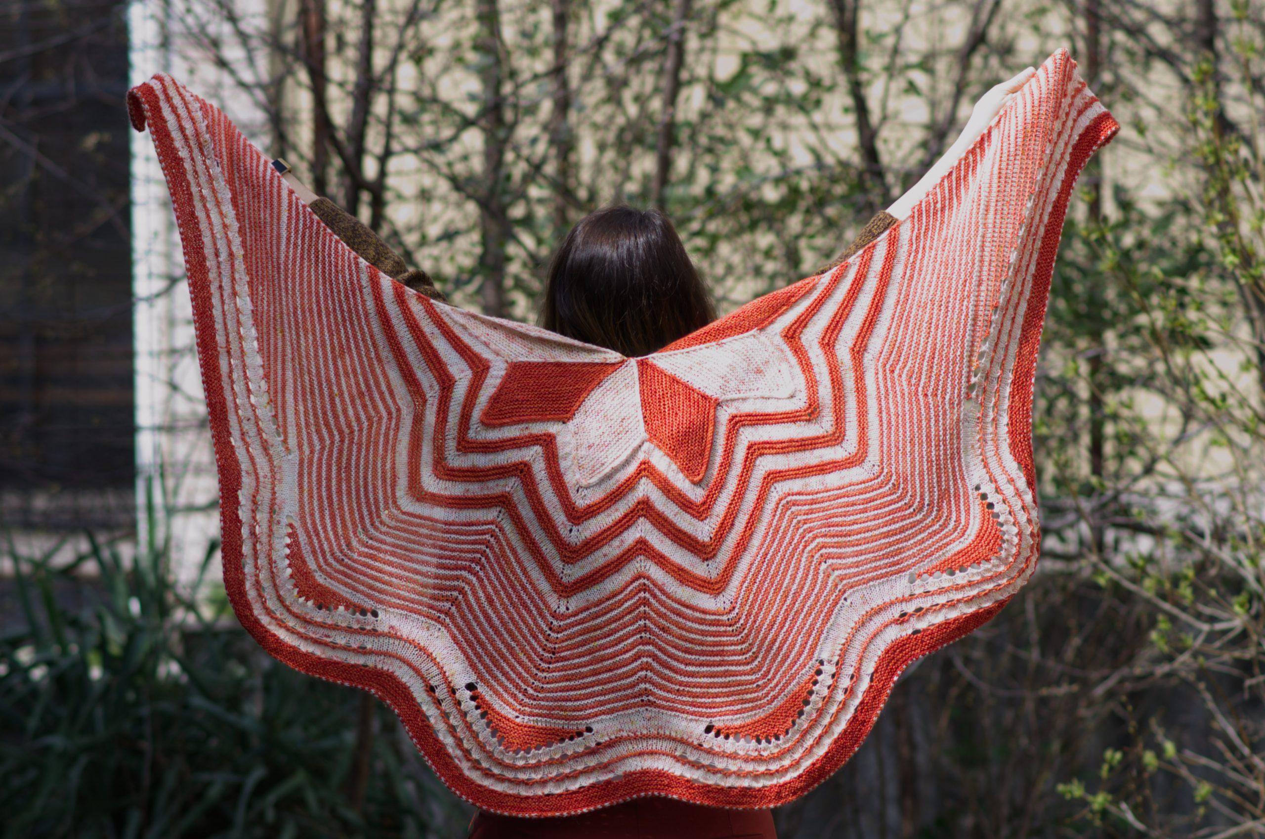 Starflake shawl by Stephen West