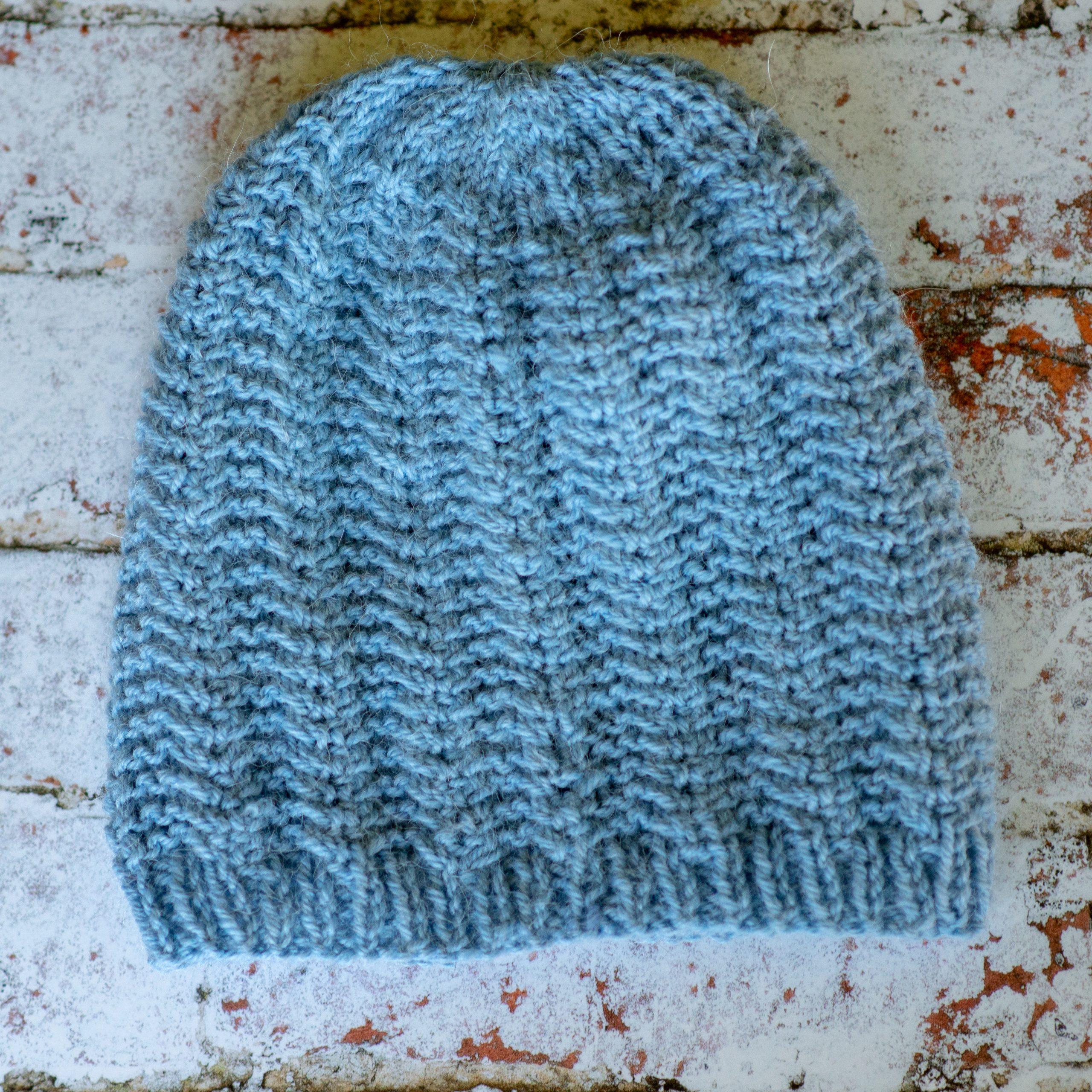 Mitko Ribbed Hat – Knitting Pattern