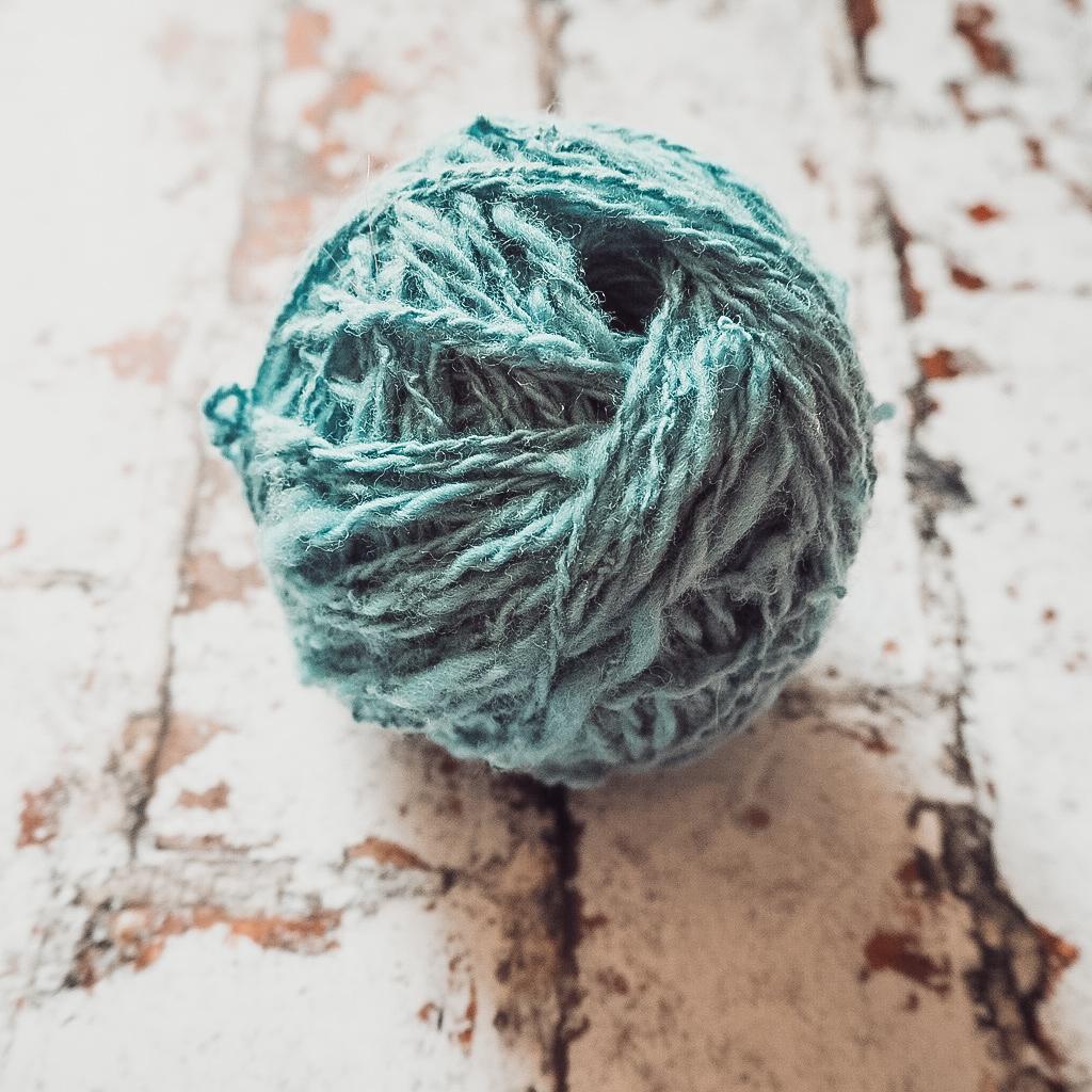 I handspun yarn!