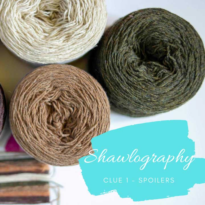Shawlography – Stephen West MKAL 2021 – Clue 1- spoilers :)